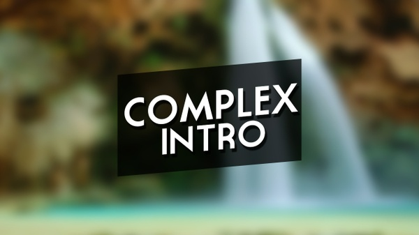 Complex 2D Overlay Intro