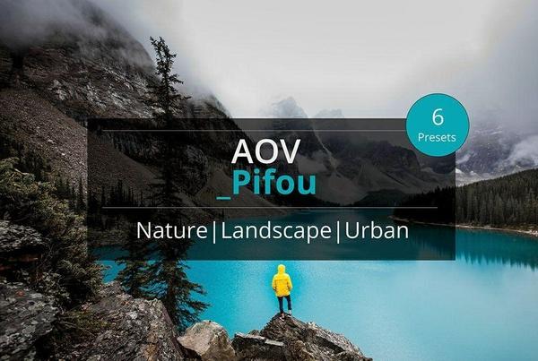 AOV x Pifou Lightroom Presets