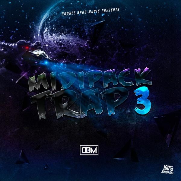 Double Bang Music - Trap Midi Pack Vol.3 (41 Loops / 50 MIDI)