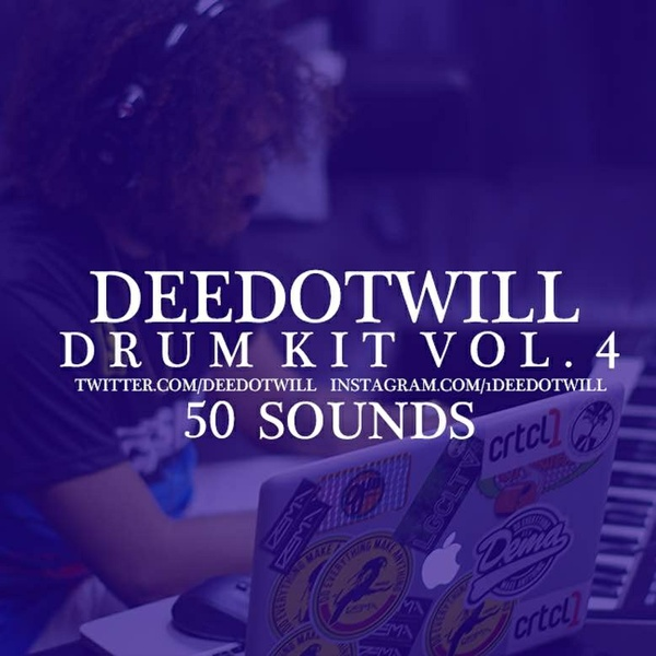 Deedotwill Drum Kit Vol. 4