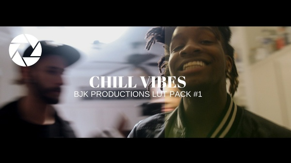 """BjK Productions  FREE LUT Pack #1 """"Chill Vibes"""""""
