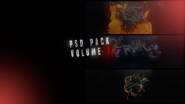 PSD PACK Volume 1