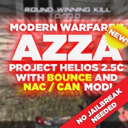 (PS3/MW2) Project Helios v2.5c NAC + BOUNCE MOD *NO JB NEEDED!!* - Azza, Blue Teammates, +550