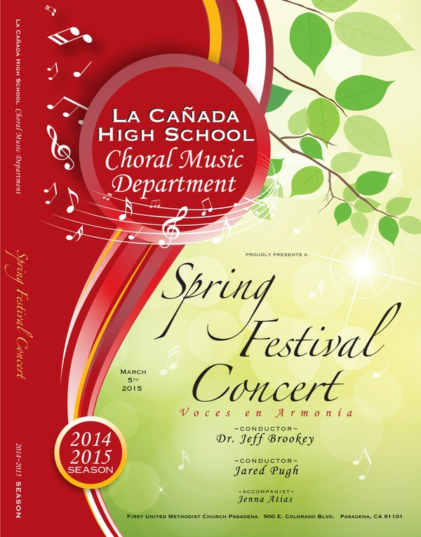 March 5, 2015 Spring Festival Concert