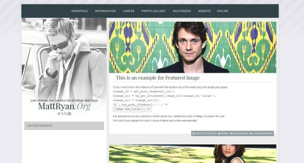 Premade 47 (Wordpress theme)