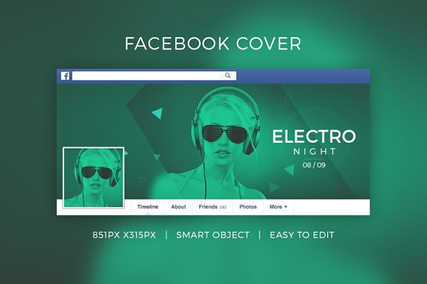 Dj Facebook Cover V4
