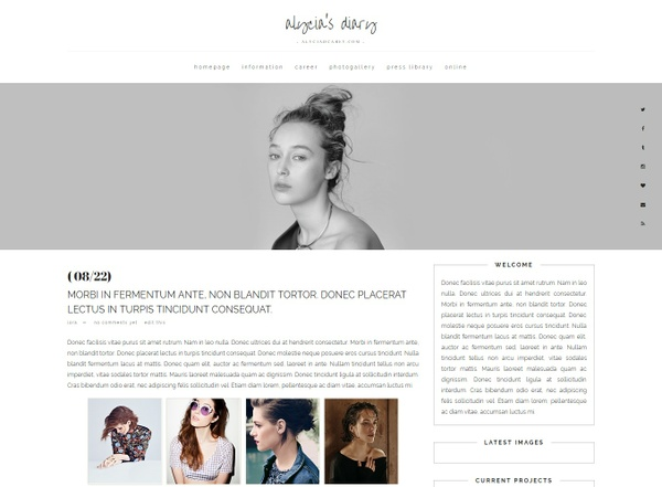 ERD / Wordpress #01 (Responsive)