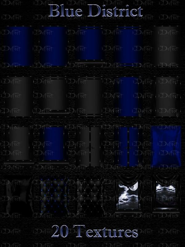 Blue District Room Texture