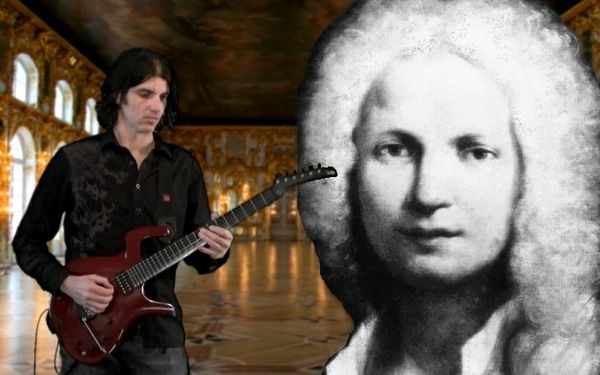 TAB only - Dan Mumm - 2nd Allegro from Vivaldi's Concerto in Dm RV 565