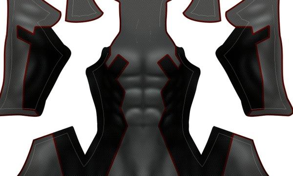 Deadpool X-FORCE pattern