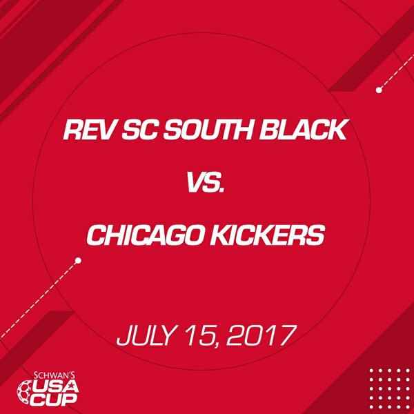 Boys U13 - July 15, 2017 - Rev SC South Black V. Chicago Kickers
