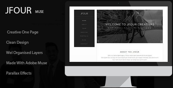 Multipurpose Creative Adobe Muse Templates
