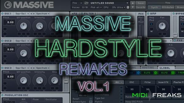 Midifreaks - Massive Hardstyle Remakes Vol.1