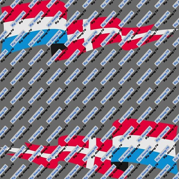 Flags Netherlands-Danmark