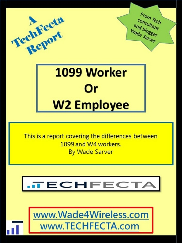 1099 Worker or W2 Employee, report.