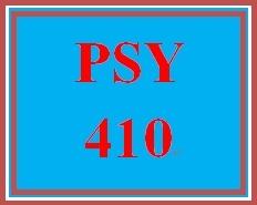PSY 410 Week 4 Treatment of Personality Disorders Debate