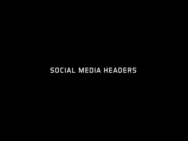 Social Media Headers