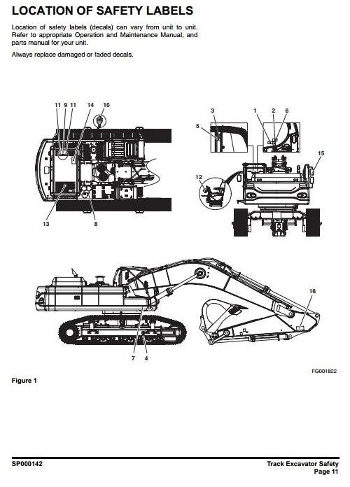 Doosan Crawler Excavator Type DX480LC, DX520LC S/N: 5001 and Up Workshop Service Manual