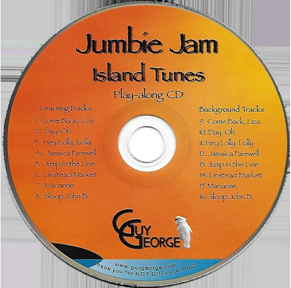 Jumbie Jam Island Tunes Play-along CD