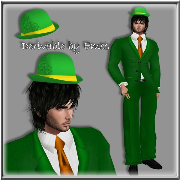 ST.PATRICK'S DAY HAT MESH MALE 2018