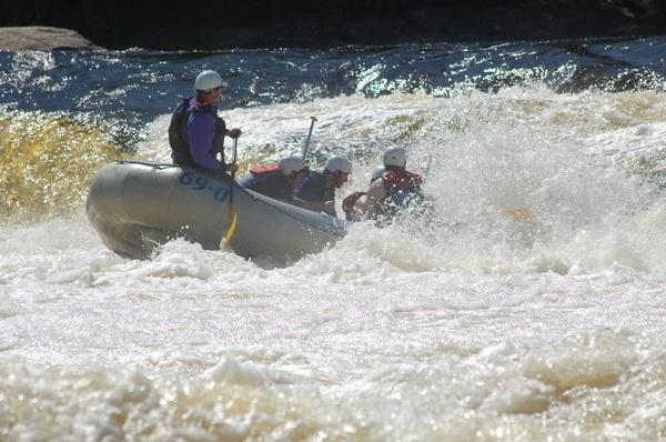 Penobscot Rafting Video 07/03/2017