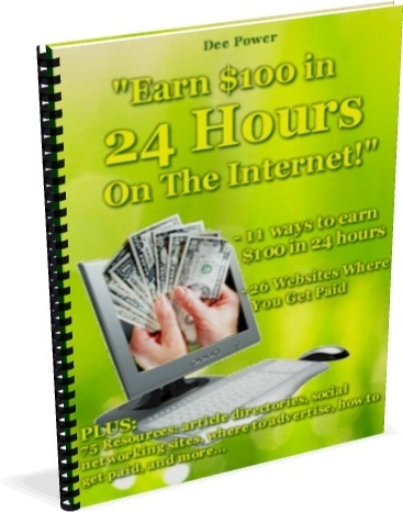 How To Make 100 Dollars in 24 Hours - THE GUIDE