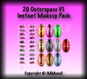 20 Outerspace V1 Instant Makeup