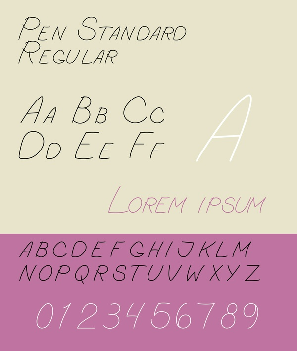 Pen Standard - Regular