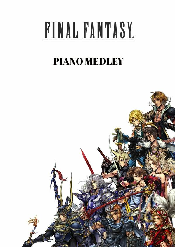 Final Fantasy - Piano Medley