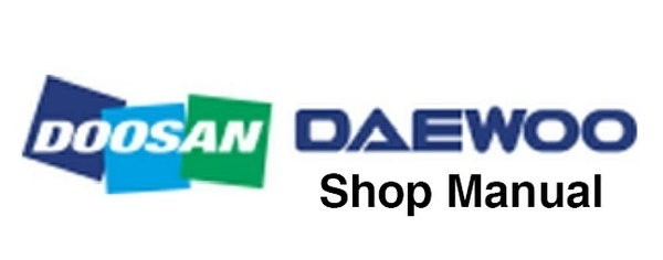 Doosan DX15 & DX18 Excavator Service Repair Shop Manual(S/N: 40001 and Up)