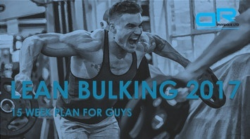 Lean Bulking 2017  Transformation Plan