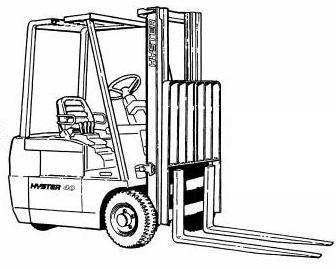 Hyster Diesel/LPG Forklift Truck C160 Series: J30XMT, J35XMT, J40XMT Spare Parts List, EPC