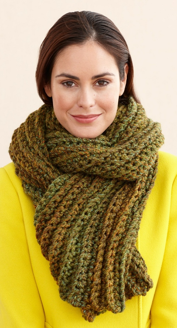 Moss Taupe Scarf