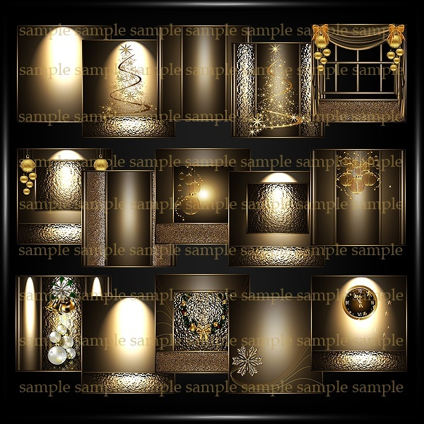 Christmas Gold Luxury
