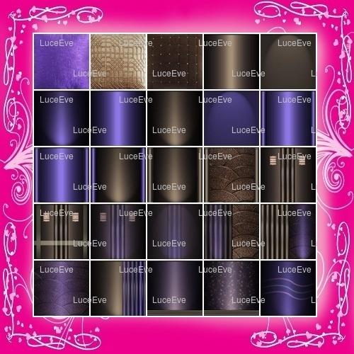 Purple Royale Room/Furniture Textures