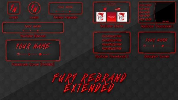 Fury Rebrand/Revamp Template [EXTENDED]