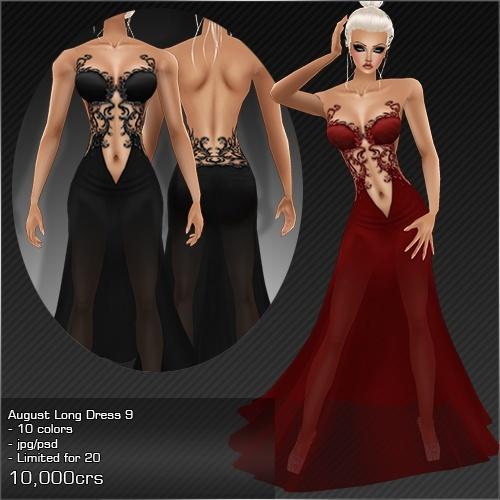 2013 Aug Long Dress # 9