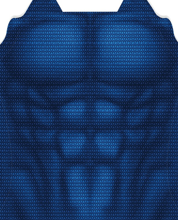 SUPERMAN TEXTURED UNDERSUIT pattern file