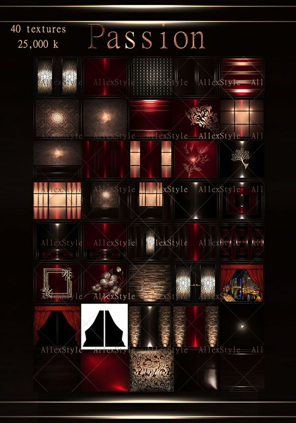 "IMVU TEXTURES FILE ""PASSION RED"""