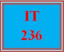 IT 236 Week 8 Website Prototyping