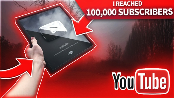 I REACHED 100,000 SUBSCRIBERS!!!!!!! - THUMBNAIL TEMPLATE PACK - CLICKBAIT EDITABLE PLAY BUTTON 2017
