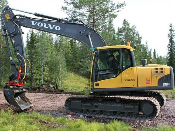 VOLVO EC160C L EC160CL EXCAVATOR SERVICE REPAIR MANUAL - DOWNLOAD