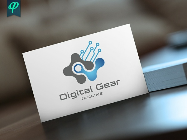 Digital Gear - Modern Logo Template