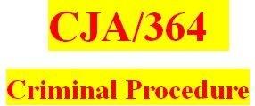 CJA 364 Week 4 Team Paper - Supreme Court Case Analysis