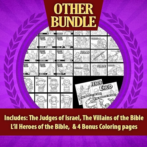 The Heroes of the Bible: Other Bundle