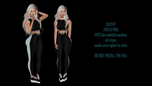 Sporty Outfit - PSD & PNG