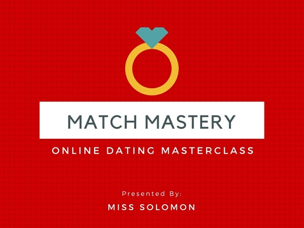 Match Mastery: Online dating masterclass for Match.com
