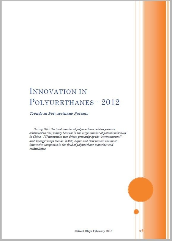 Innovation in Polyurethanes 2012