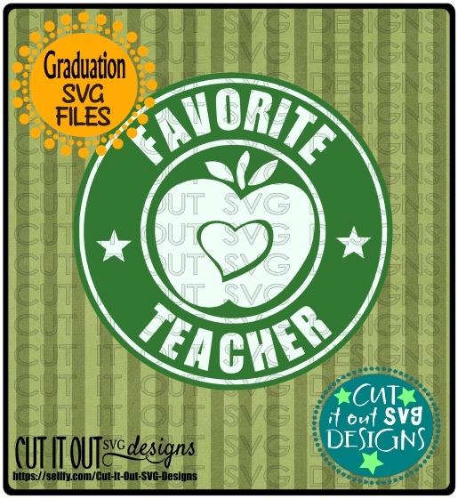 Favorite Teacher Starbucks Logo Design 3
