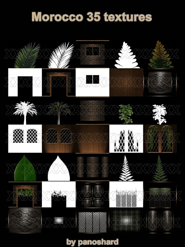 BIG OFFER  Morocco 35 textures ROOM ONLY $6
